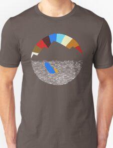 Last Man On Earth Rainbow Mountain w/ Waves Phil Miller T-Shirt