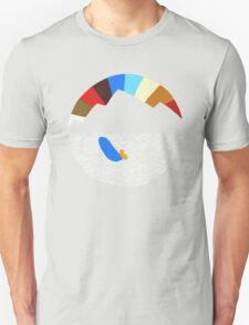 Last Man On Earth Rainbow Mountain w/ Waves Phil Miller Unisex T-Shirt