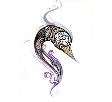 Abstract Swan by BigAart