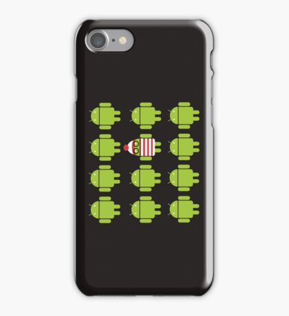 Where's Waldroid? iPhone Case/Skin