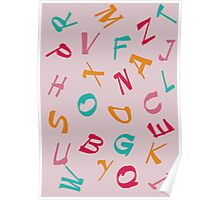 Children Alphabet Poster