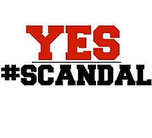 Scandal - Olivia Pope YES Photographic Print