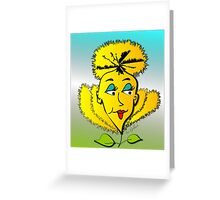 Daffy Daffodil Greeting Card