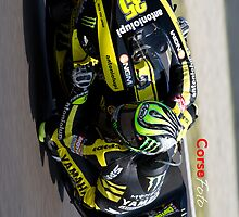 Cal Crutchlow in Mugello iPhone case by corsefoto