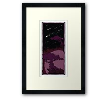 Two Trees - Moon 3 Framed Print