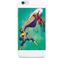 Cyclops v Magneto iPhone Case/Skin