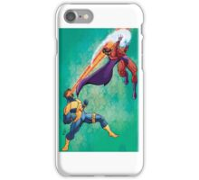 Cyclops v Magneto iPhone Case/Skin