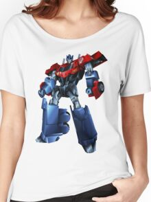 Robots in Disguise Optimus Prime Women's Relaxed Fit T-Shirt
