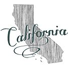 California State Typography by surgedesigns