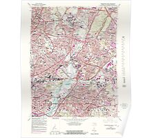 USGS Topo Map District of Columbia DC Washington East 255893 1965 24000 Poster