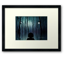 I'll Be Swimming Home Framed Print