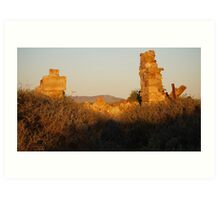 Quorn, South Australia Art Print