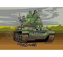 The Dogs of War: T34 Photographic Print