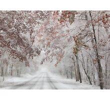 Autumn Wonderland Photographic Print