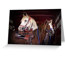 """Skipper & Mr. Pony"" Greeting Card"