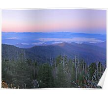 clingmans dome tn Poster