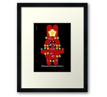 CHRISTMAS RABBITT Framed Print