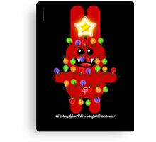CHRISTMAS RABBITT Canvas Print