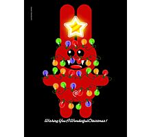 CHRISTMAS RABBITT Photographic Print