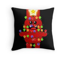 CHRISTMAS RABBITT Throw Pillow
