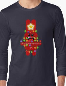 CHRISTMAS RABBITT Long Sleeve T-Shirt
