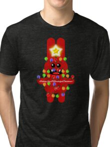 CHRISTMAS RABBITT Tri-blend T-Shirt