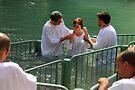 Baptised in the Jordan river #17 by Moshe Cohen