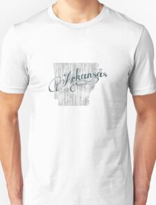 Arkansas State Typography T-Shirt