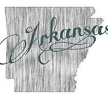 Arkansas State Typography by surgedesigns