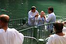 Baptised in the Jordan river #18 by Moshe Cohen