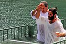 Baptised in the Jordan river #20 by Moshe Cohen
