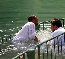 Baptised in the Jordan river #23 by Moshe Cohen