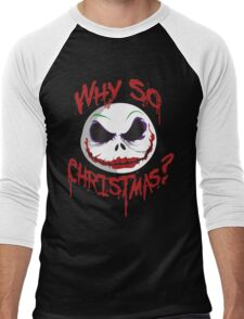 Why So Christmas? Men's Baseball ¾ T-Shirt