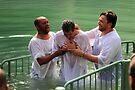 Baptised in the Jordan river #24 by Moshe Cohen