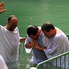Baptised in the Jordan river #26 by Moshe Cohen