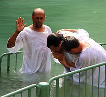 Baptised in the Jordan river #28 by Moshe Cohen