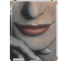 red mouth iPad Case/Skin