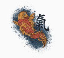 Japanese Coy Fish Japan by TDSwhite