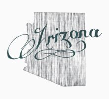 Arizona State Typography Baby Tee