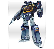 Masterpiece Soundwave (Transparent Background) Revised Poster
