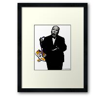 Two Classics Street Art Framed Print