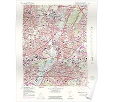 USGS Topo Map District of Columbia DC Washington East 256982 1965 24000 Poster