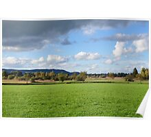 peaceful countryside Poster