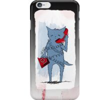 I'm a little tied up at the moment iPhone Case/Skin