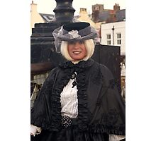 The Goth Weekend at Whitby, Oct 2011. 11 Photographic Print