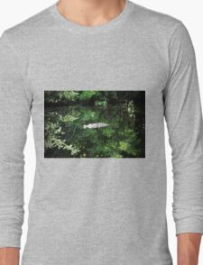 Alligator In The Middle Long Sleeve T-Shirt