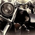 Black & white bike by photojunk