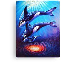 Children of the Stars wip 6 Canvas Print