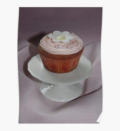 Pink Cupcake Poster