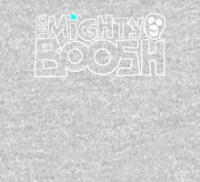 The Mighty Boosh – White Stencilled Writing & Mask T-Shirt